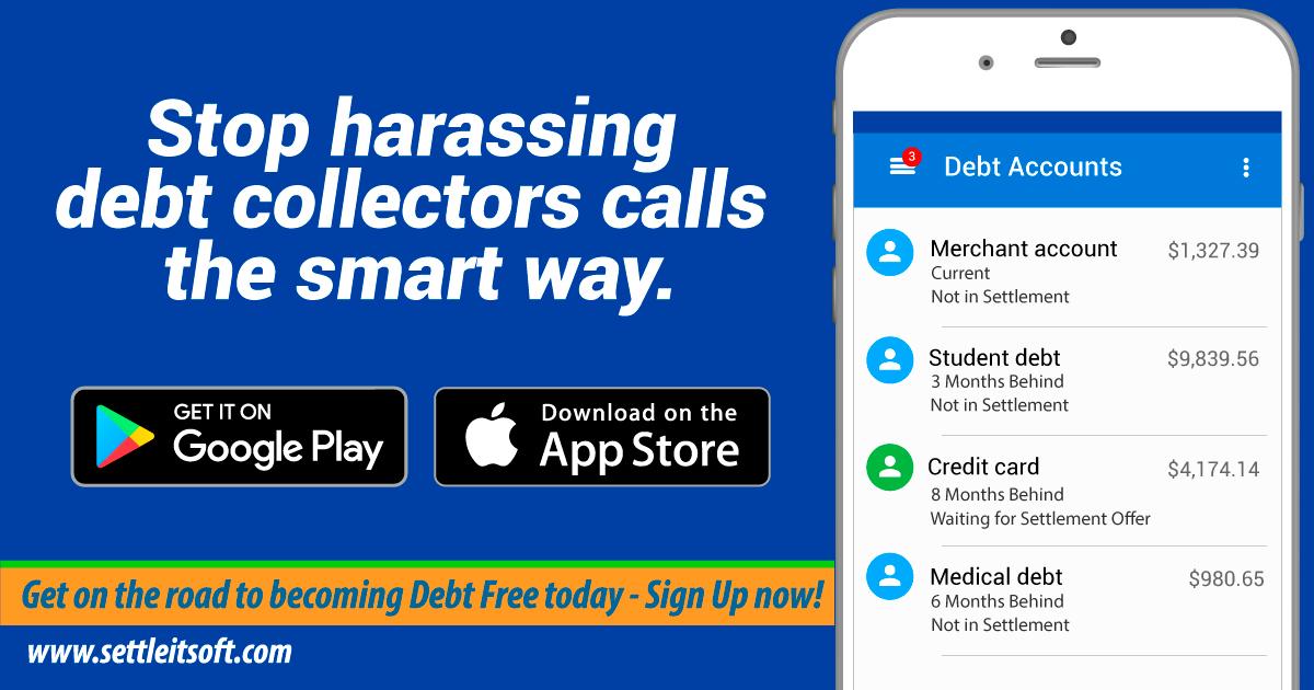 Debt Settlement App & Online Debt Negotiation Platform